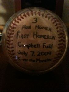 Unruh Home Run Ball
